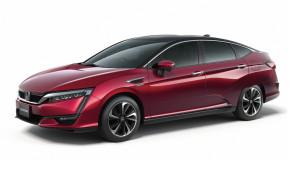 Nieuwe waterstofauto Honda onthuld