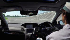 Honda: in 2025 zelfrijdende auto